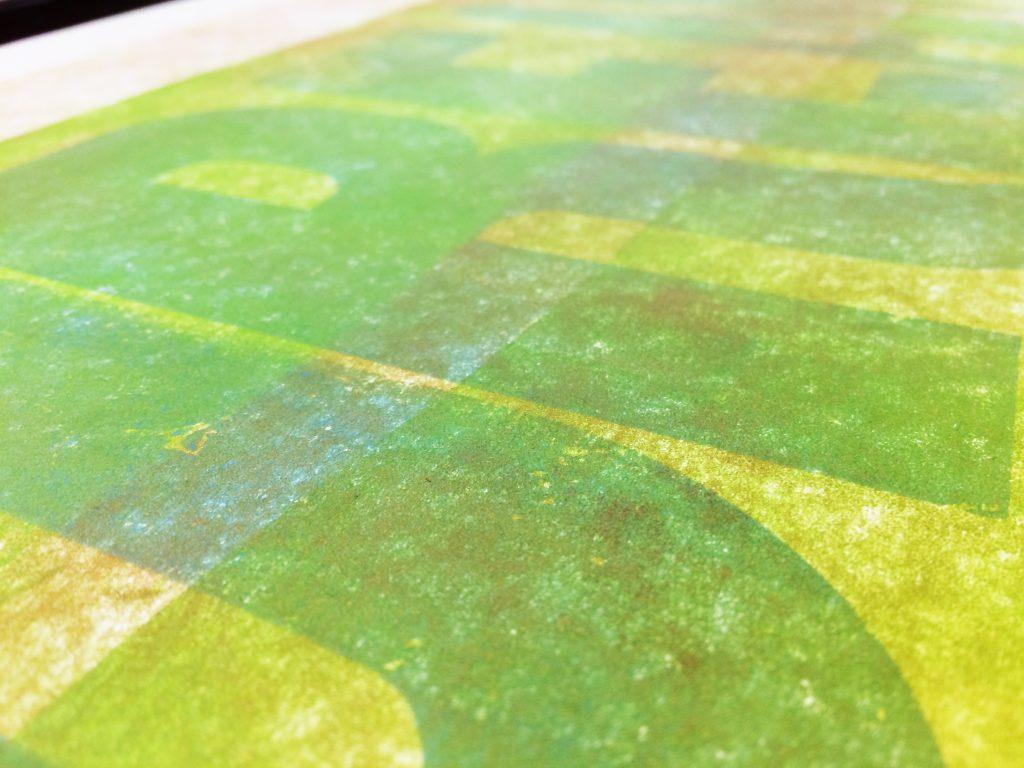 Letterpress Print: Dream