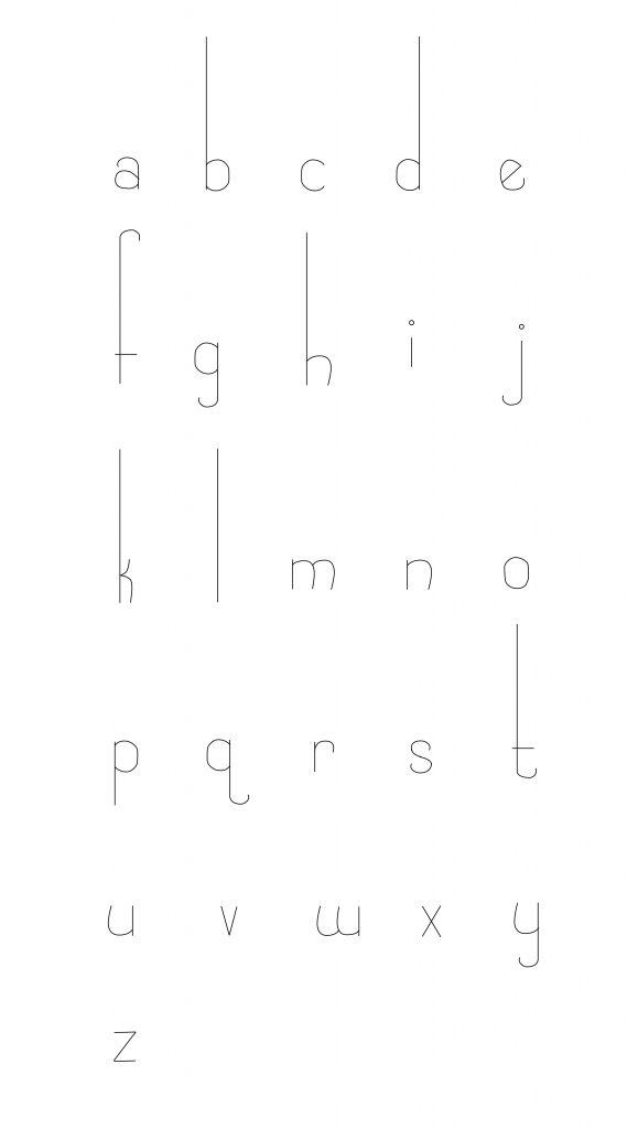 Typeface: Interlude