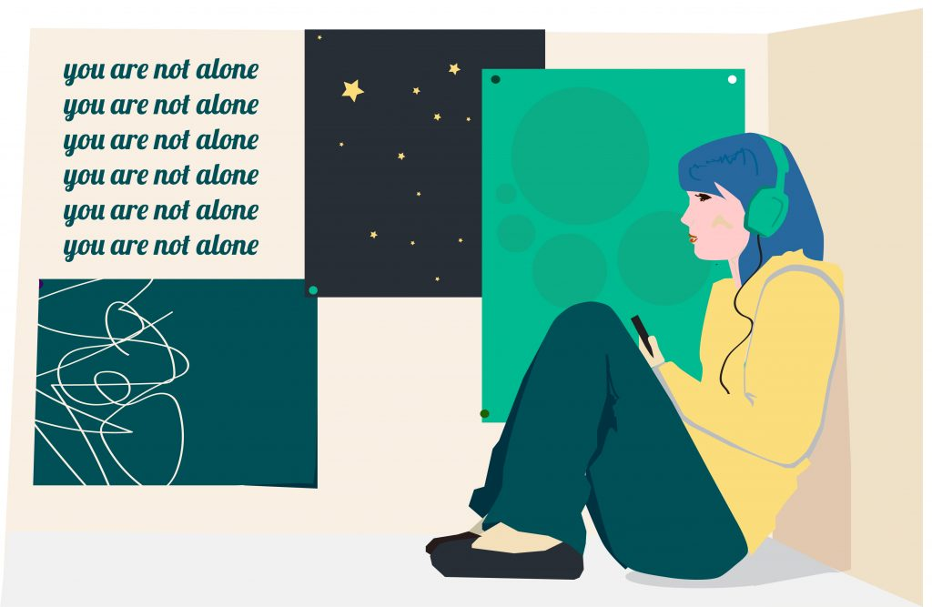 Illustration: You Are Not Alone